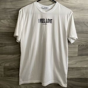 Givenchy I Feel Love T-Shirt Size XS